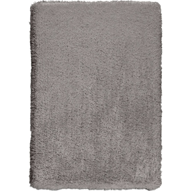Rugs - Ultra Shag Area Rug - Gray