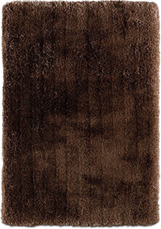 Rugs - Ultra Shag Area Rug - Mink