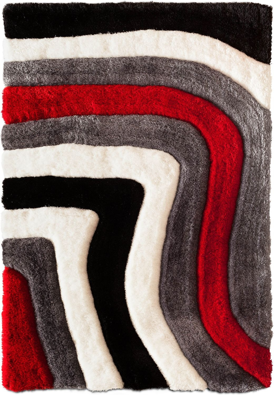 Rugs - Magna Astro Area Rug - Red