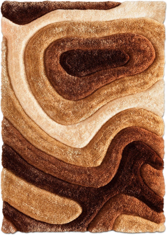 Rugs - Magna Pangea Area Rug - Brown
