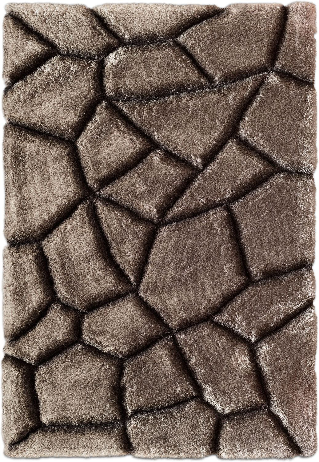 Rugs - Magna Stepping Stones Area Rug - Gray
