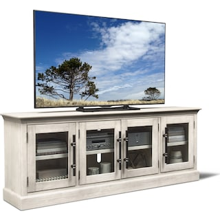 "Telluride 85"" TV Stand - Water White"