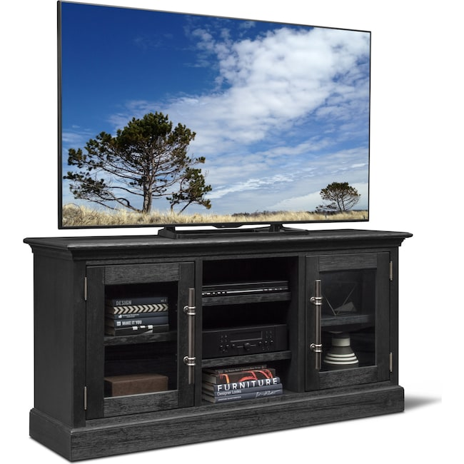 "Entertainment Furniture - Telluride 66"" TV Stand - Truffle"