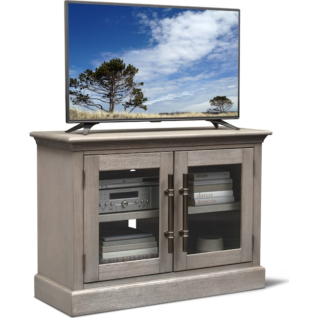 "Entertainment Furniture - Telluride 45"" TV Stand - Parchment"