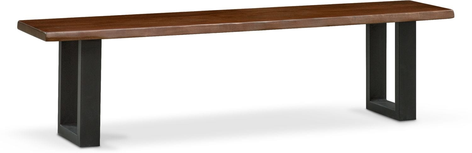 Dining Room Furniture - Portland Dining Bench - Cognac