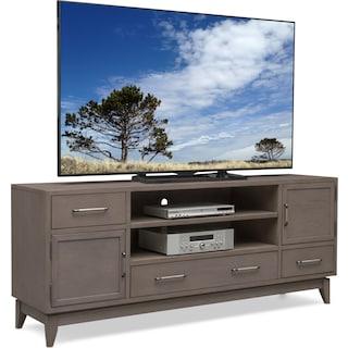 "Saybrook 74"" TV Stand - Gray"