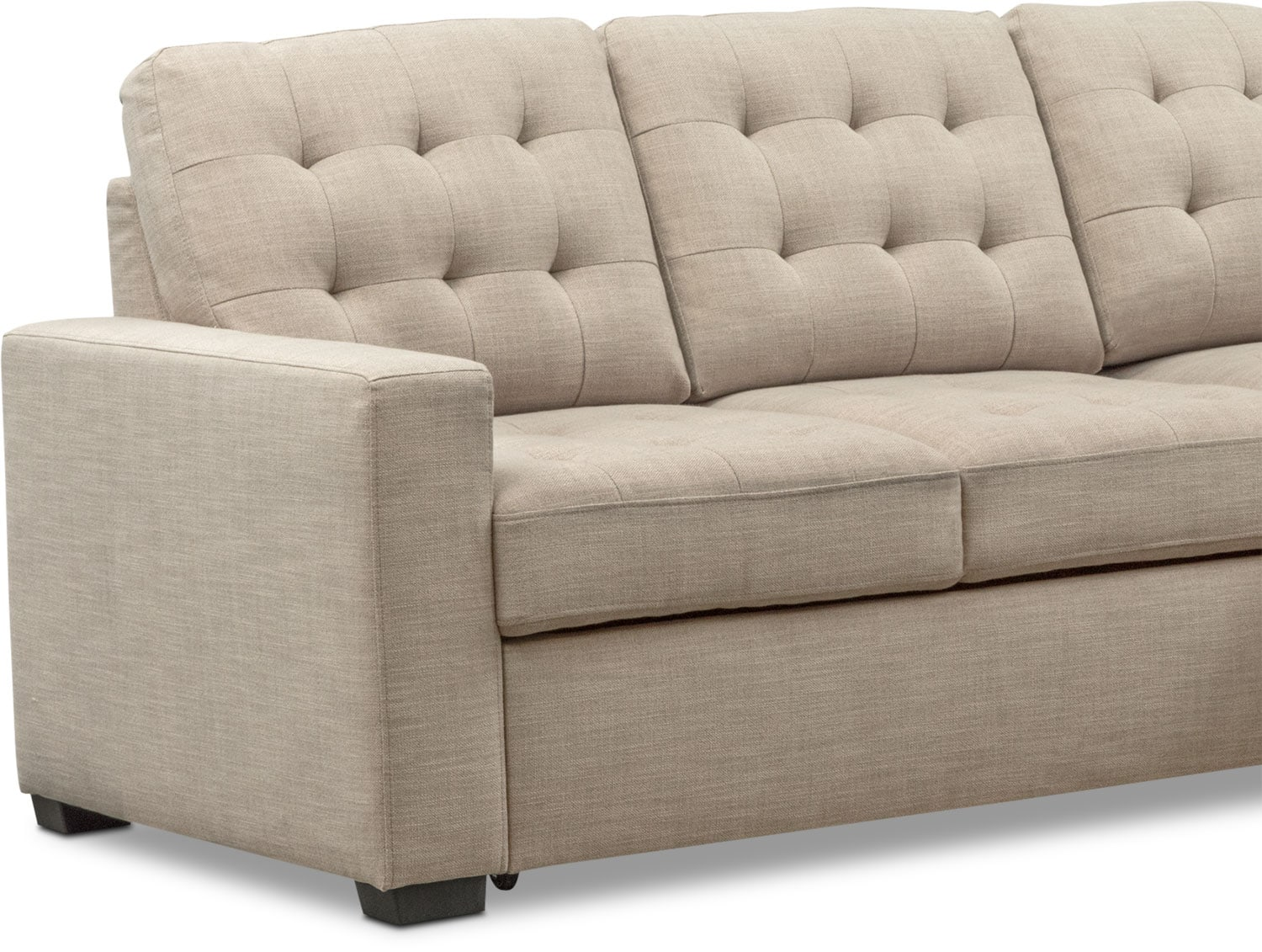 Chatman 2 Piece Sleeper Sectional With Right Facing Chaise