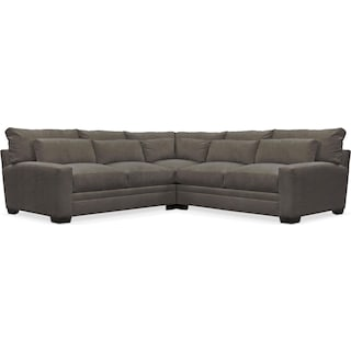 Winston Comfort 3-Piece Sectional - Statley L Sterling