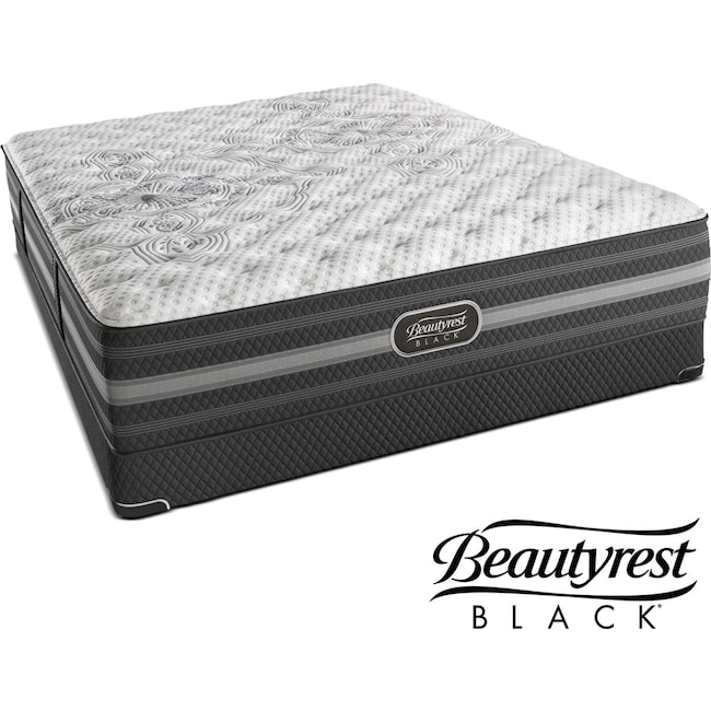 Mattresses and Bedding - Calista Extra-Firm Queen Mattress and Low-Profile Foundation Set