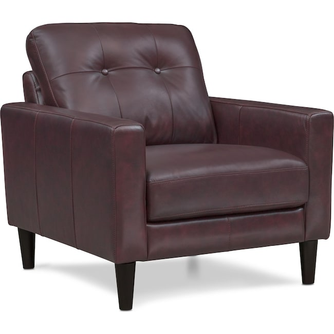 Living Room Furniture - Grant Chair - Brown