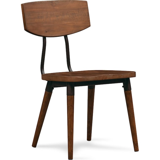 Dining Room Furniture - Bodhi Side Chair - Rustic Pine