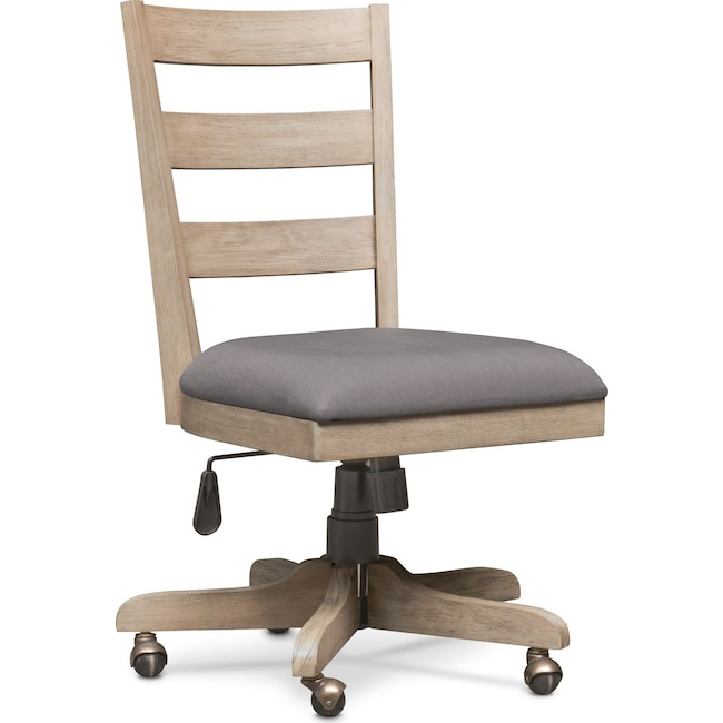 Home Office Furniture - Barclay Office Chair - Gray