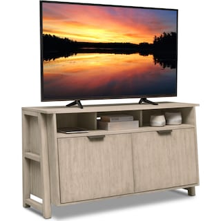 """Barclay 54"""" TV Stand - Gray"""