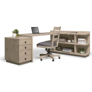 Barclay Desk - Gray