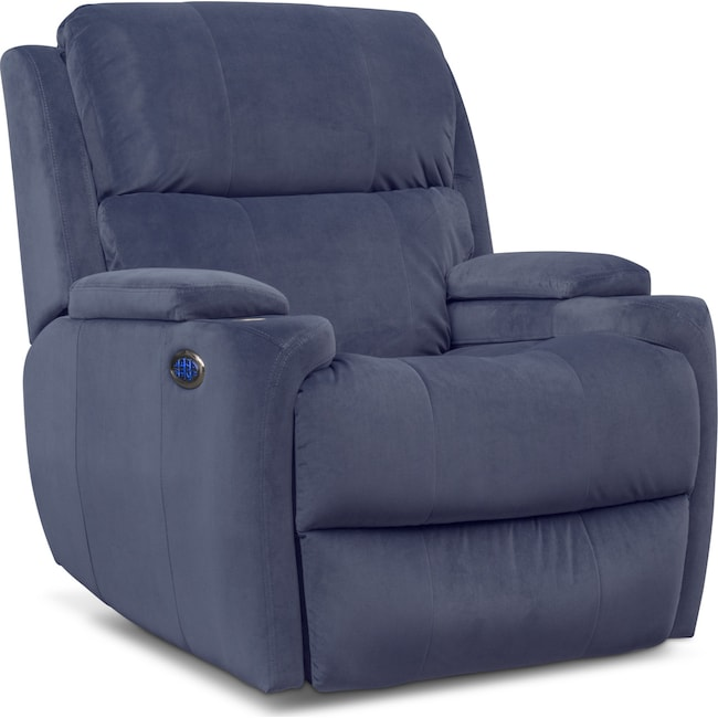 Living Room Furniture - Omega Triple-Power Recliner