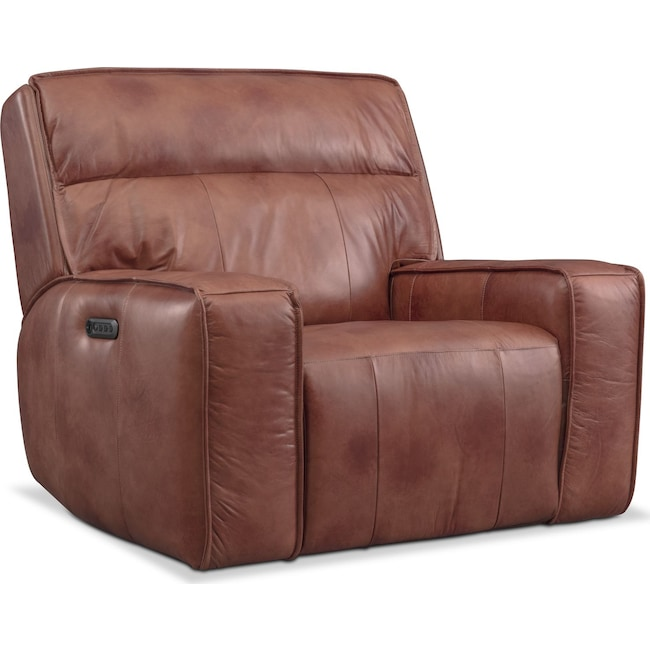Living Room Furniture - Bradley Triple-Power Recliner