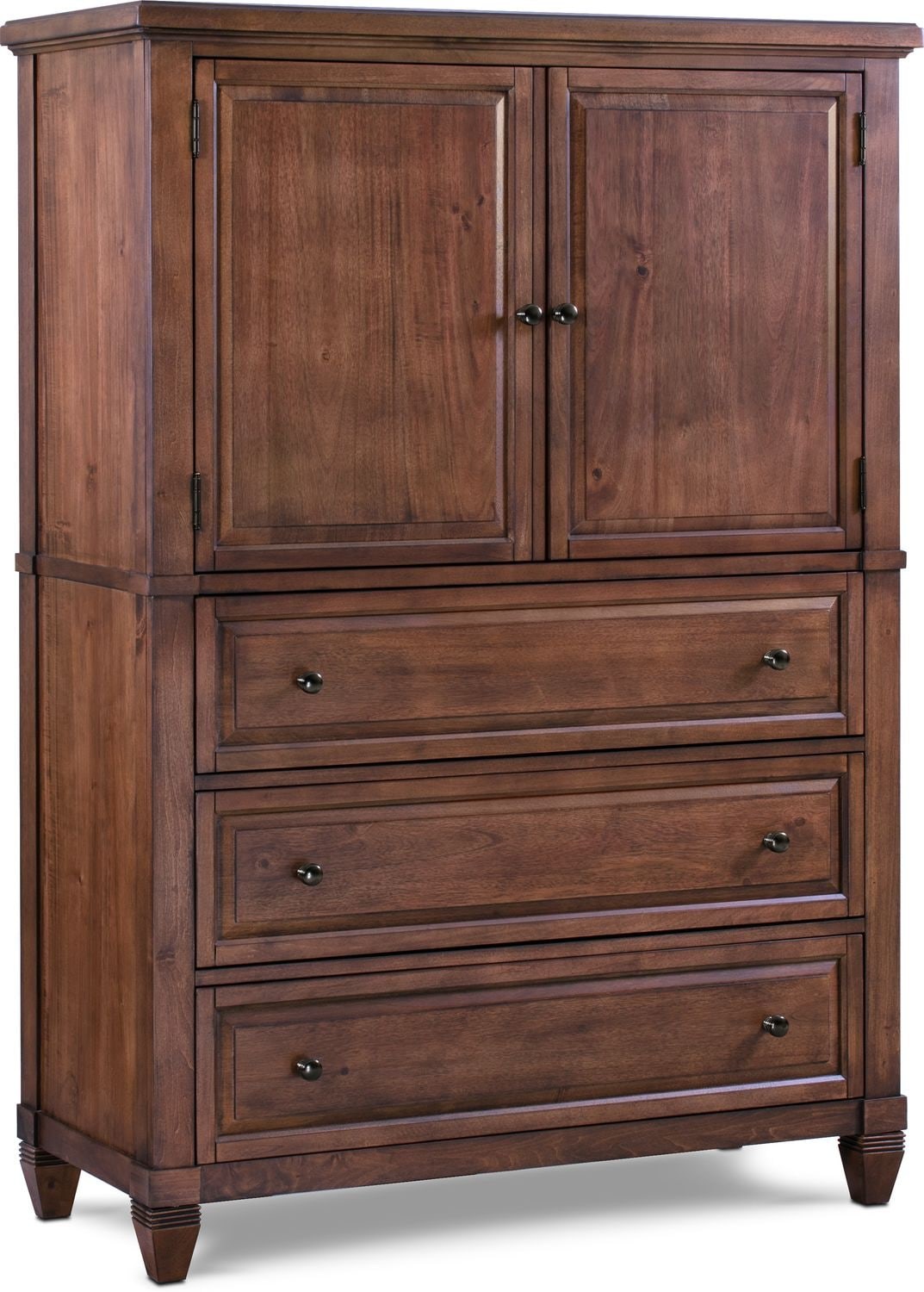 Bedroom Furniture - Rosalie Armoire - Chestnut