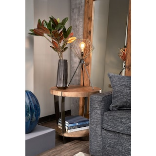 Wessex End Table - Reclaimed Pine