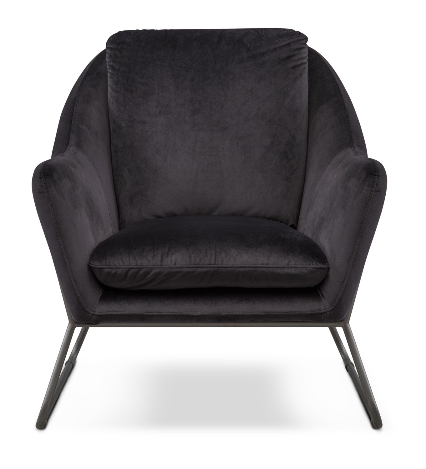 Willow accent chair black