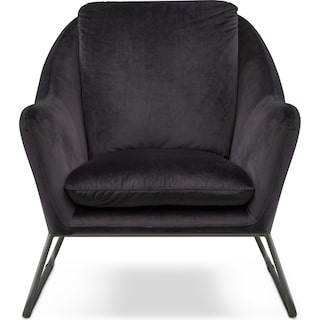 Willow Accent Chair - Black
