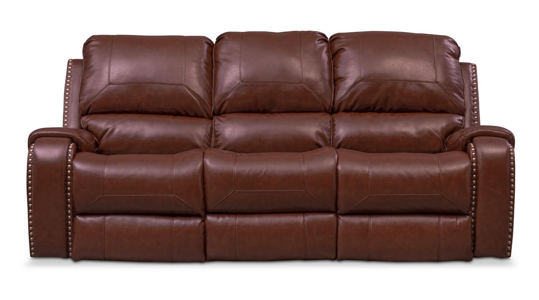 Austin Dual Power Reclining Sofa American Signature Furniture