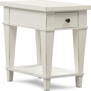 Waverly Chairside Table - White