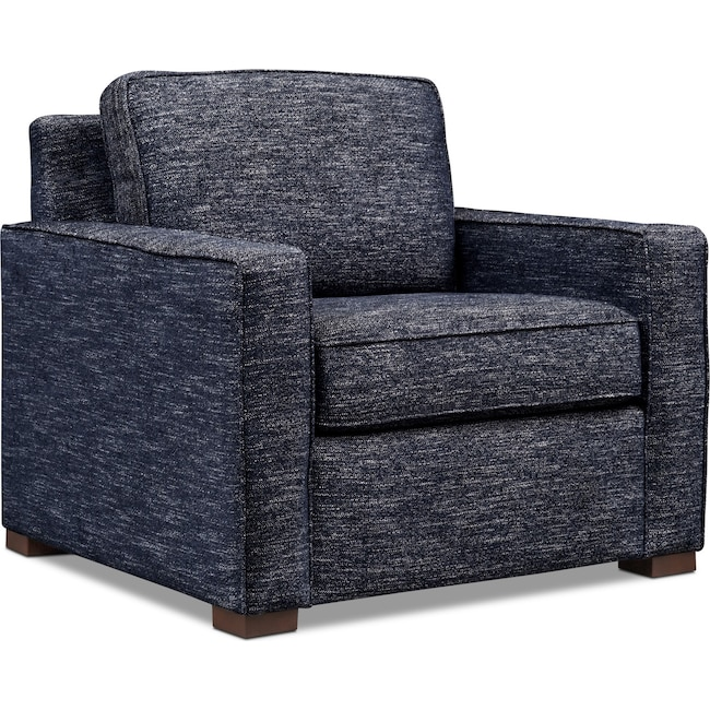 Living Room Furniture - Mayson Chair - Navy