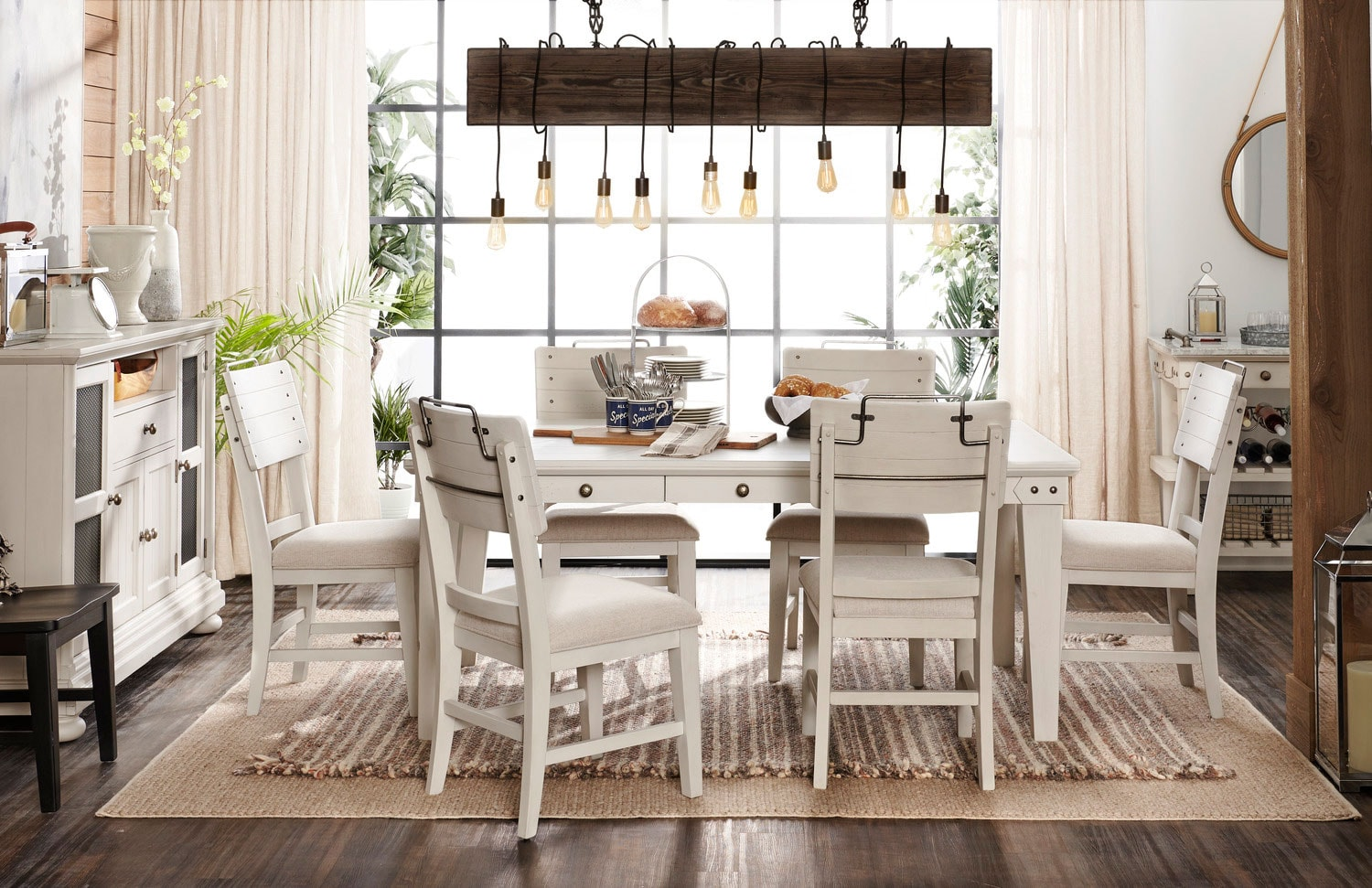 The New Haven Counter Height Dining Collection