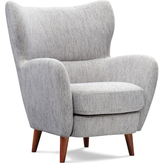 Tiffin Accent Chair - Gray