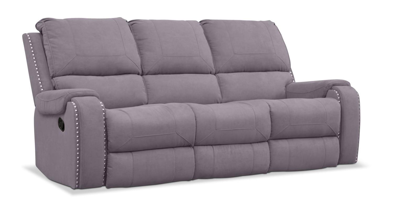 Living Room Furniture - Austin Manual Reclining Sofa