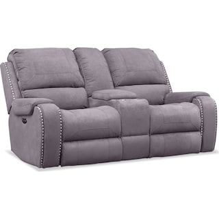 Austin Dual-Power Reclining Loveseat