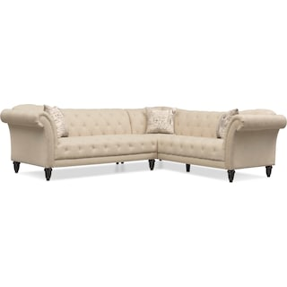 Marisol 2-Piece Sectional - Beige