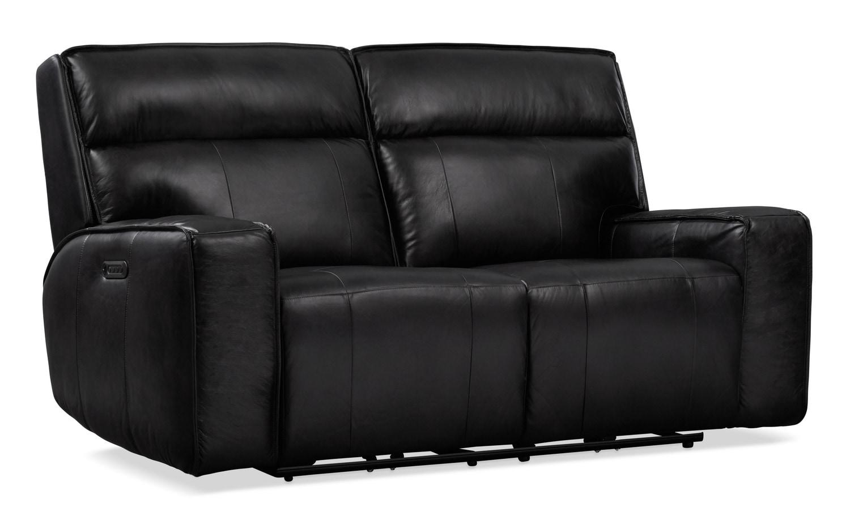 Living Room Furniture - Bradley Triple-Power Reclining Loveseat