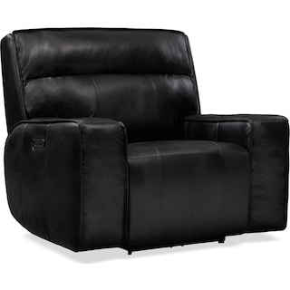 Bradley Triple-Power Recliner - Black