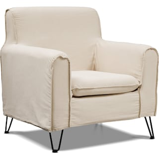 Reid Accent Chair - Beige