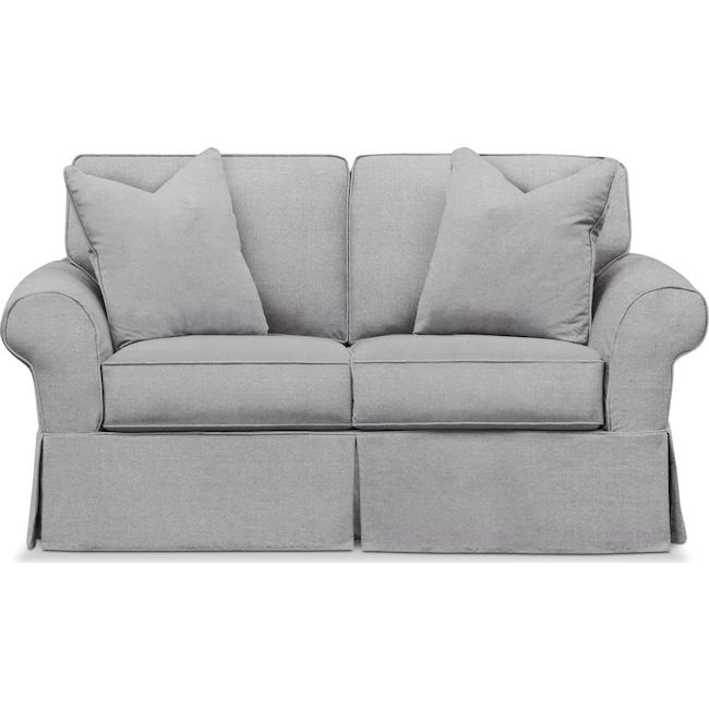 Living Room Furniture - Sawyer Slipcover Loveseat