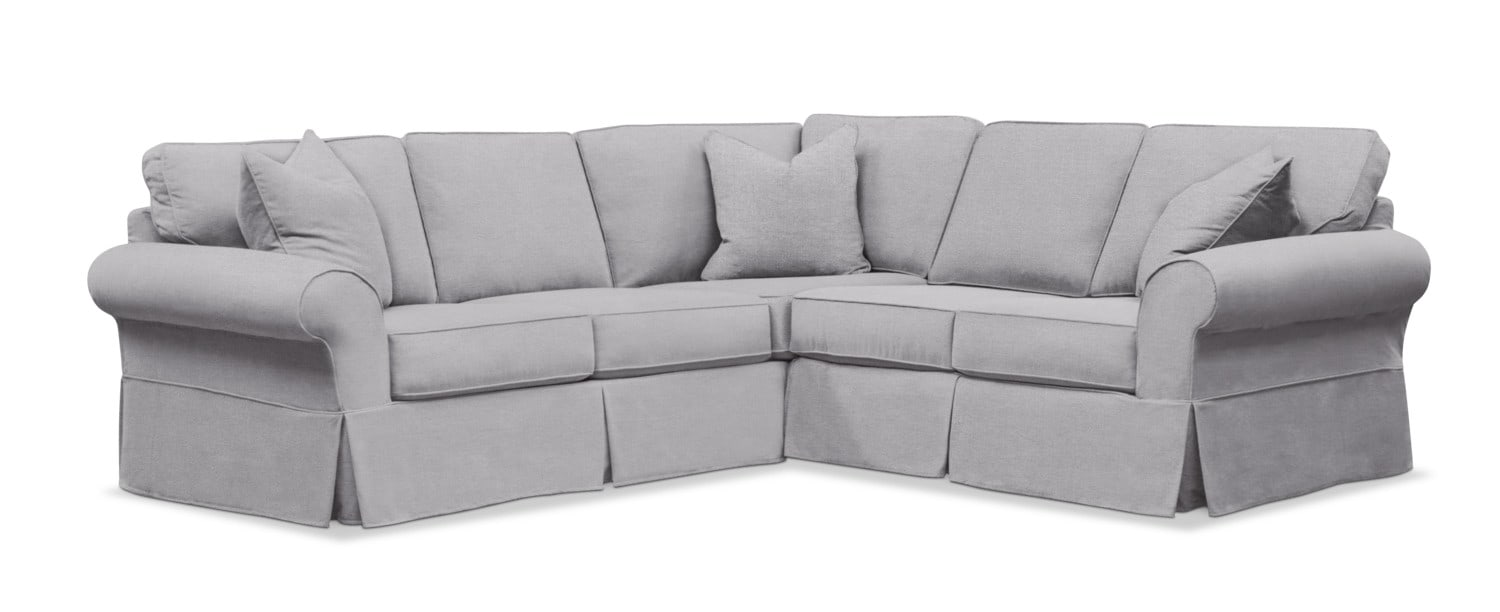 Sawyer 2 Piece Small Slipcover Sectional American