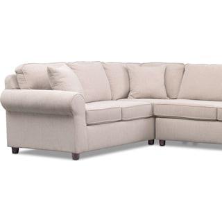 Ashton 3-Piece Sectional with Cuddler