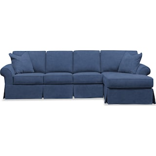 Sawyer 2-Piece Large Slipcover Sectional with Chaise
