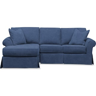 Sawyer 2-Piece Small Slipcover Sectional with Chaise