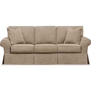Sawyer Slipcover Sofa - Boulder Taupe