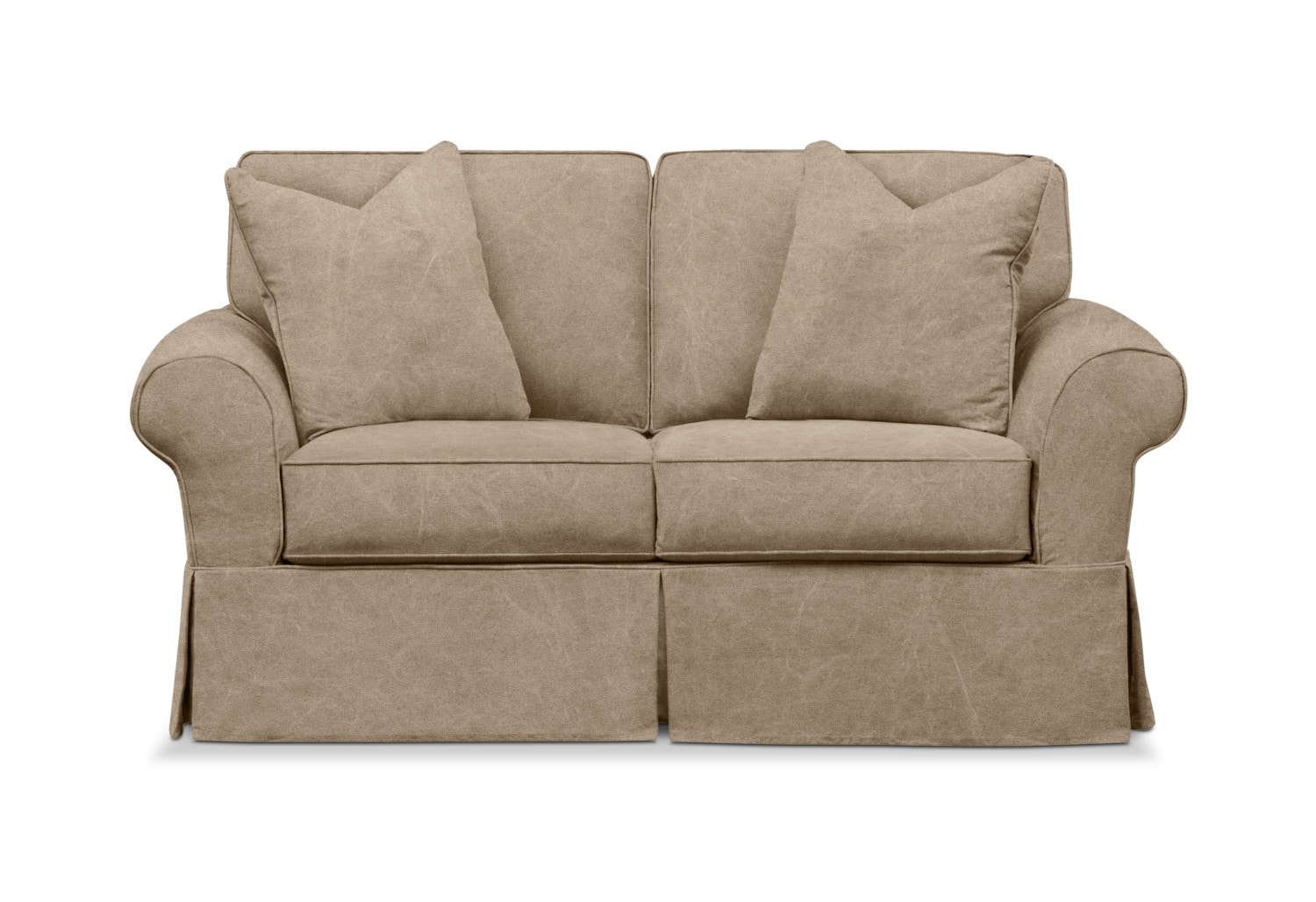 Living Room Furniture - Sawyer Slipcover Loveseat