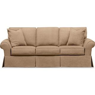 Sawyer Slipcover Sofa - Essence Camel