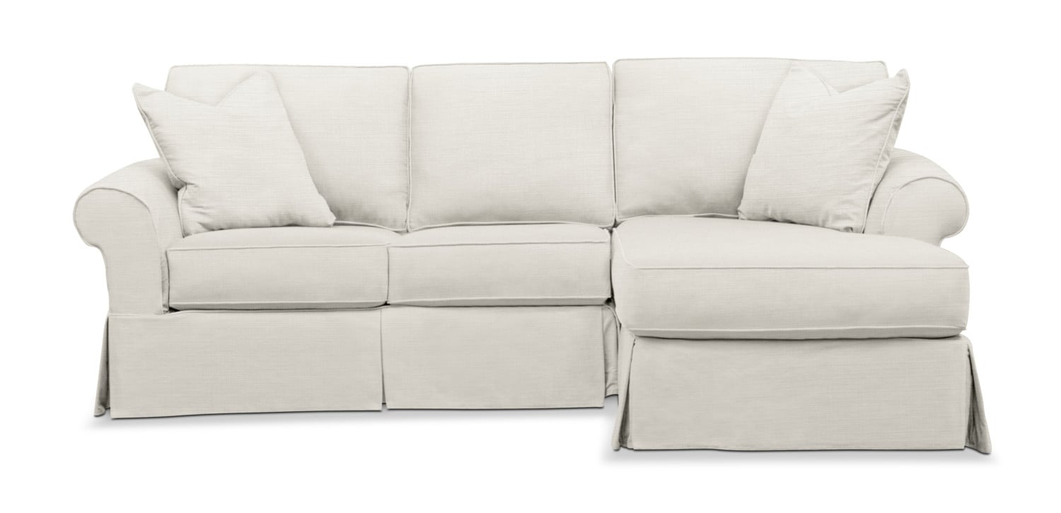 Miraculous Sawyer 2 Piece Slipcover Sectional With Loveseat And Chaise Cjindustries Chair Design For Home Cjindustriesco
