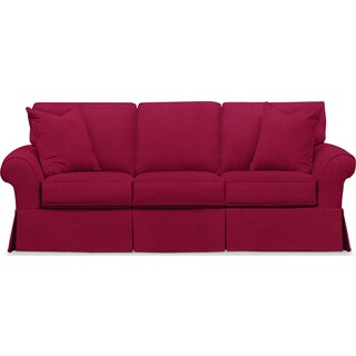 Sawyer Slipcover Sofa - Intern Red