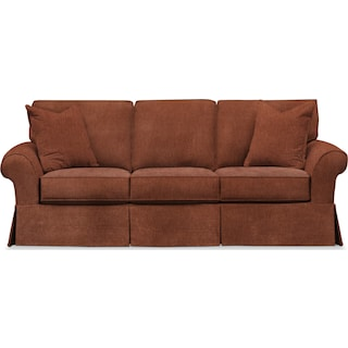 Sawyer Slipcover Sofa - Kelly Copper