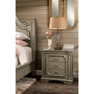 Chatelet Nightstand - Antique Taupe