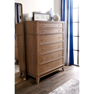 Hazel Drawer Chest - Latte