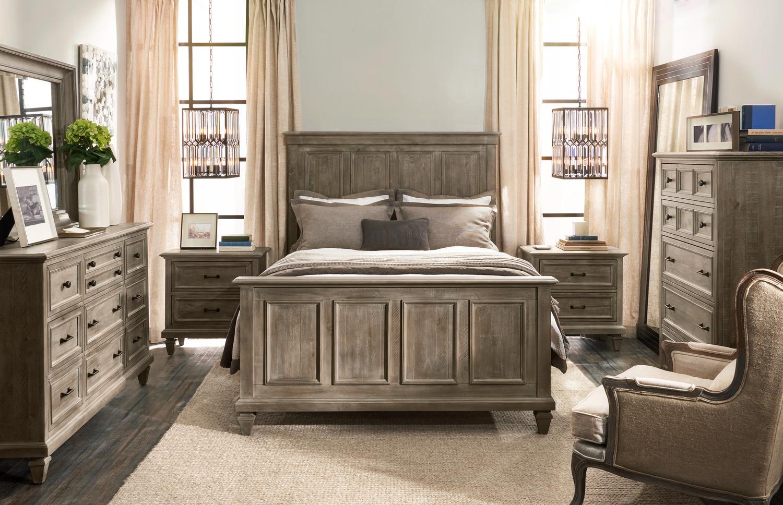 Harrison 6-Piece King Bedroom Set - Gray