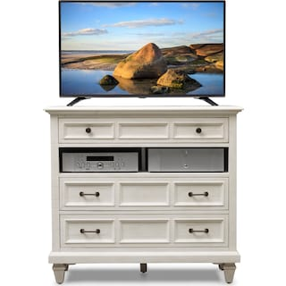 Harrison TV Stand - Chalk